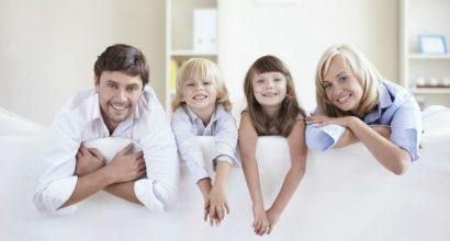Zvlhčovače vzduchu s rodinou